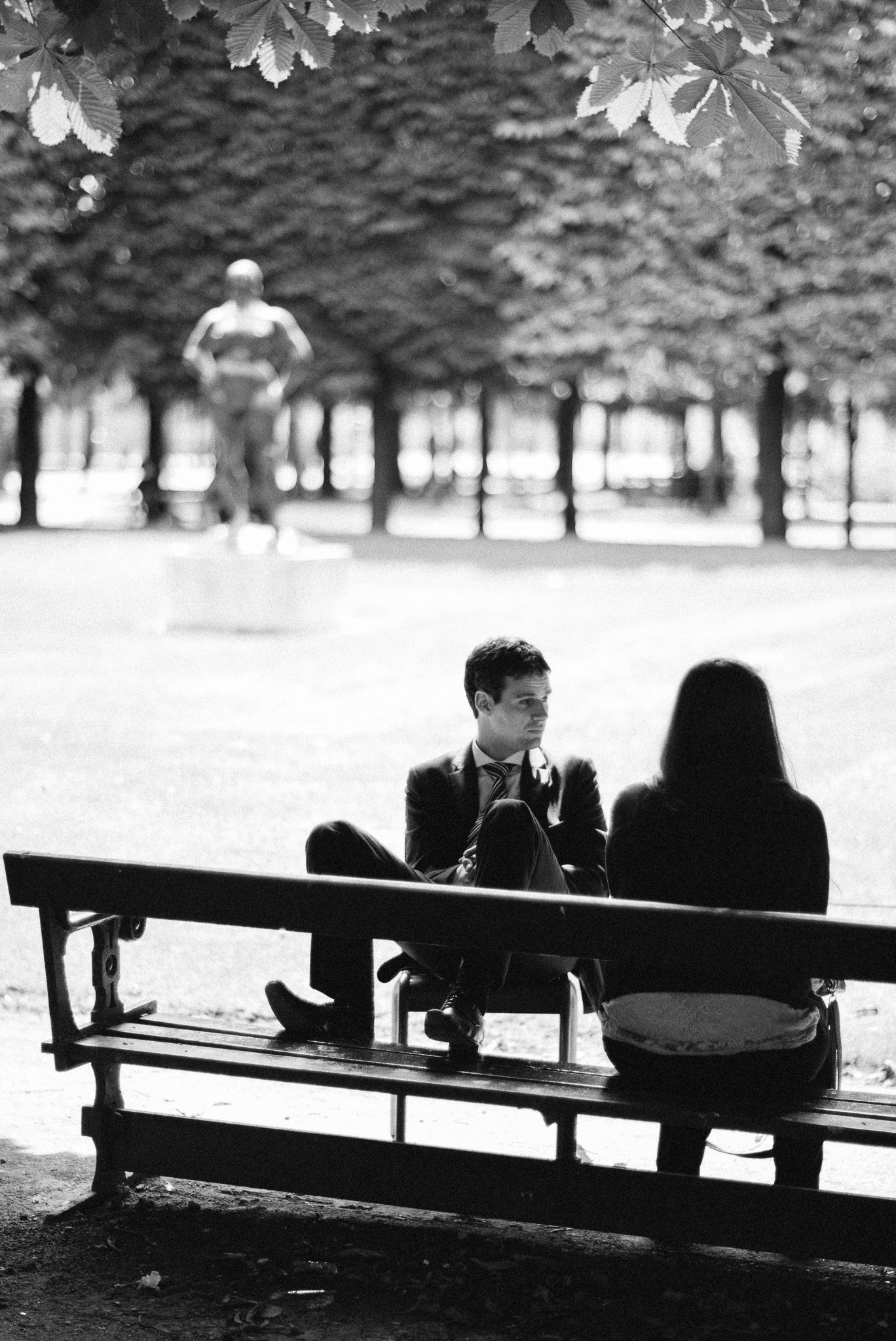 Lunch break, Jardin des Tuileries