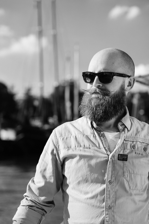 Rune with his freshly styled beard